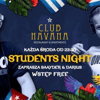 Students Night // Wstęp Free // 2 DJ's