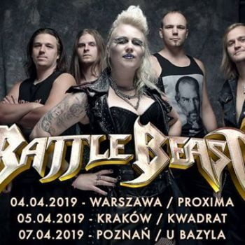 Battle Beast + Arion / 7 IV / Poznań