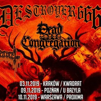 Deströyer 666 + Dead Congregation / 9 XI / Poznań