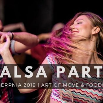 Salsa Party // Foodhall 24.08
